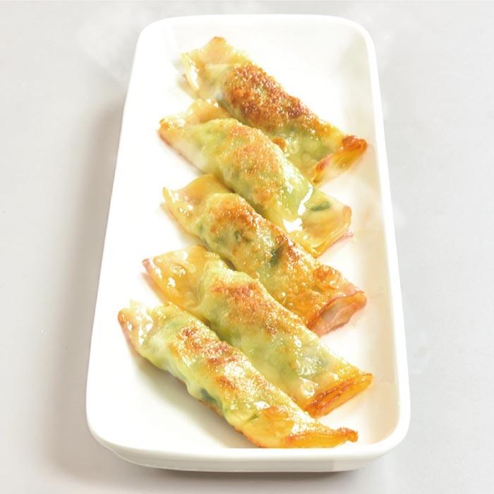 ◆韮巻焼き餃子(ニラマキヤキギョウザ)5ヶ入 聘珍樓点心