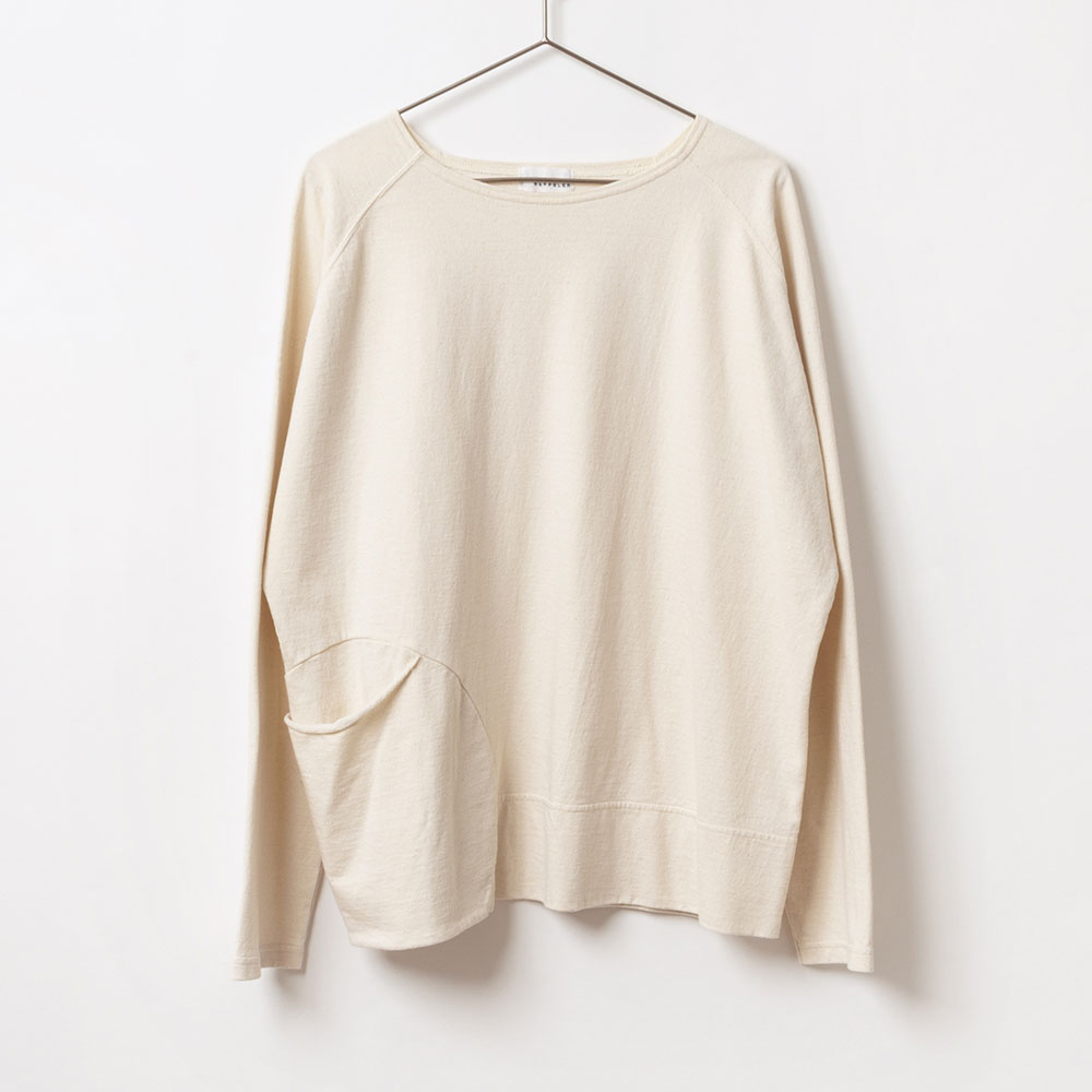[RaPPELER] PRODUCT DYEING CIRCLE POCKET PULLOVER
