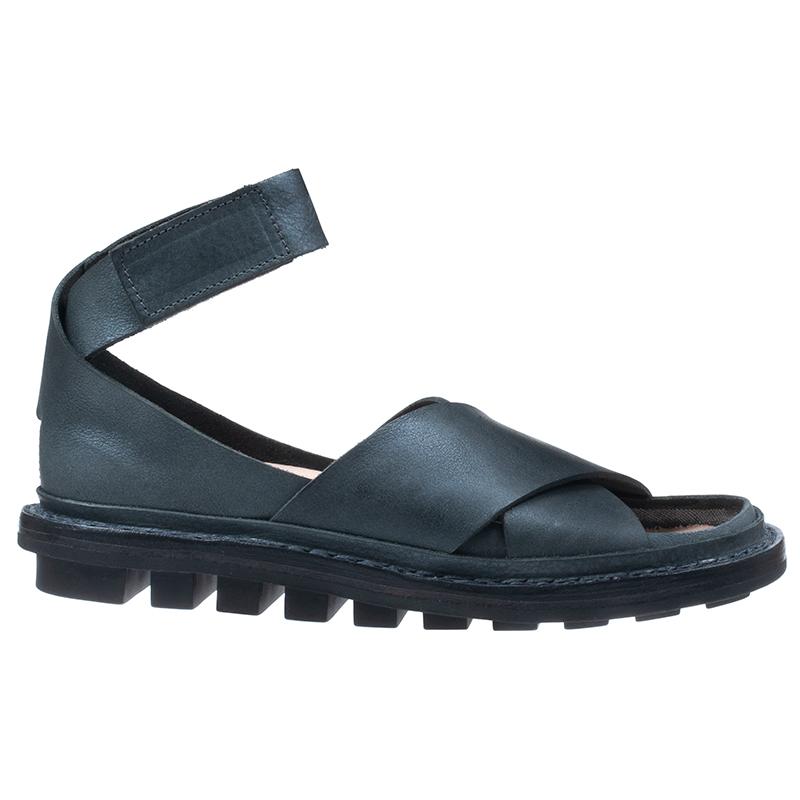 [trippen] Lagos f ( black-dev )