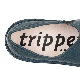 [trippen] Yen f ( navy-alb )