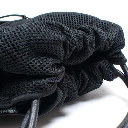 [trippen] Pouch ( black-txt/black-sft )