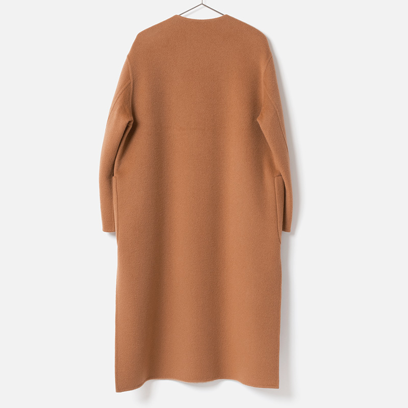 [HARRISS GRACE] CASHMERE REVERSIBLE SNAP COAT(60)