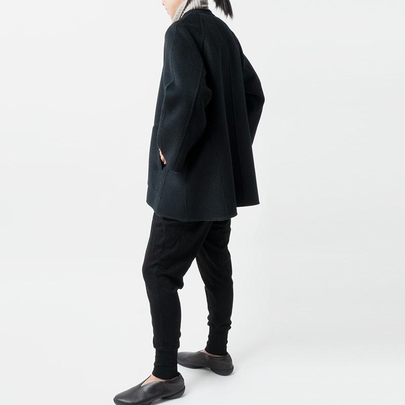 [HARRISS GRACE] CASHMERE REVERSIBLE SHORT COAT(80)
