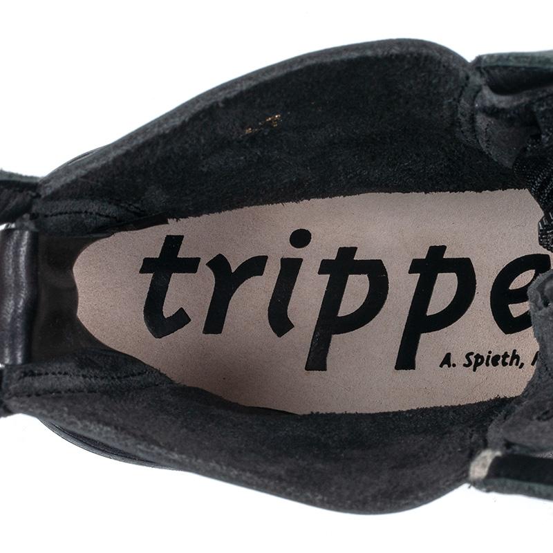 [trippen] Micro-tc f ( black-waw/black-sat )