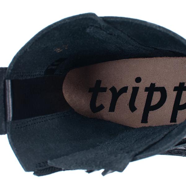 [trippen] Process-trvol f ( black-waw )