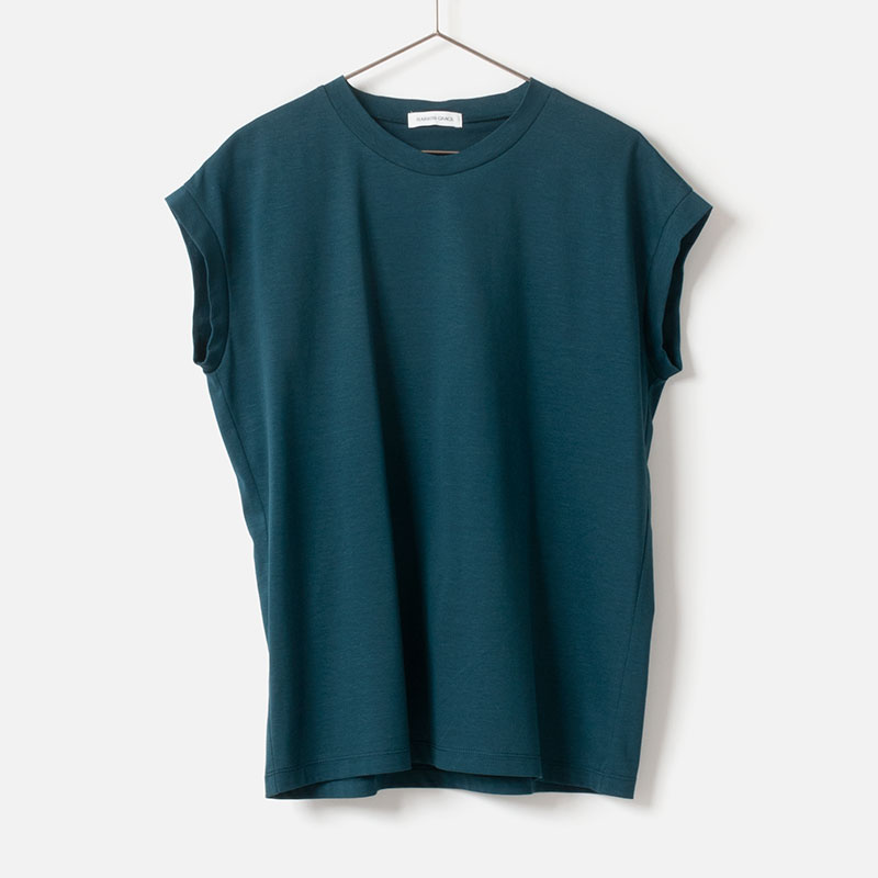 [Harriss GRACE] SLEEVELESS T-SHIRT