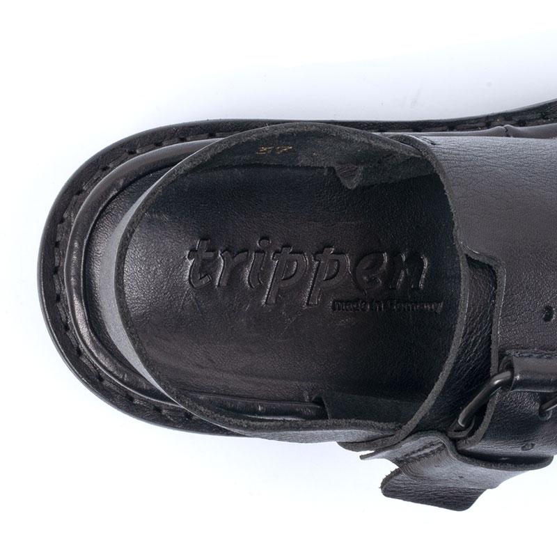 [trippen] Back-tc f ( black-waw )