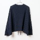 [RaPPELER] PRODUCT DYEING 4WAY CARDIGAN_NAVY