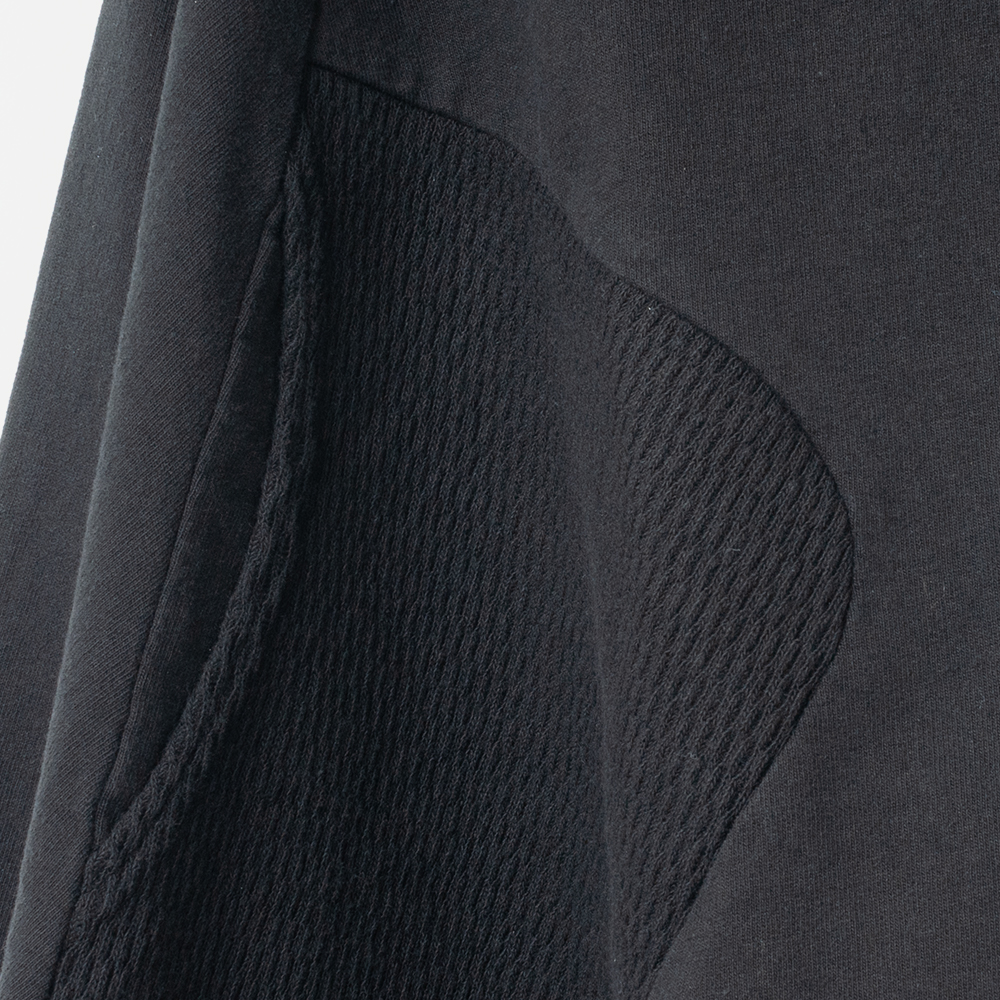 [RaPPELER] PRODUCT DYEING 4WAY CARDIGAN_BLACK