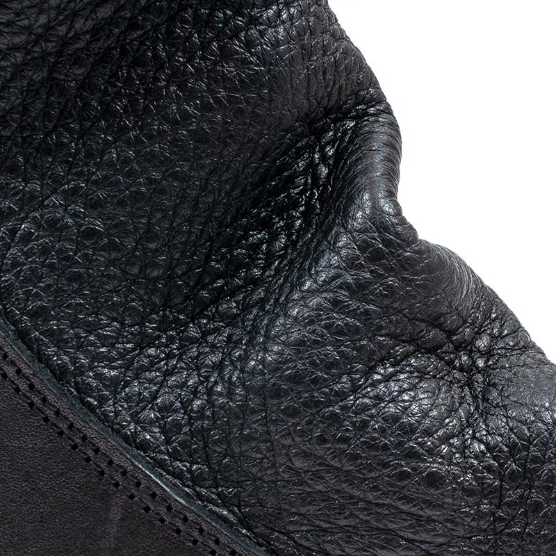 [trippen] Shovel f ( black-waw/black-der )