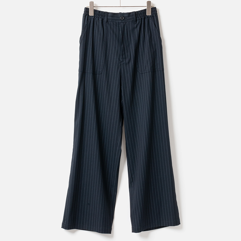 [Harriss ]FULL-LENGTH SEMI WIDE PANTS