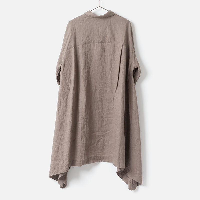 [le ciel de HARRISS] SQUARE HEM TUNIC SHIRT