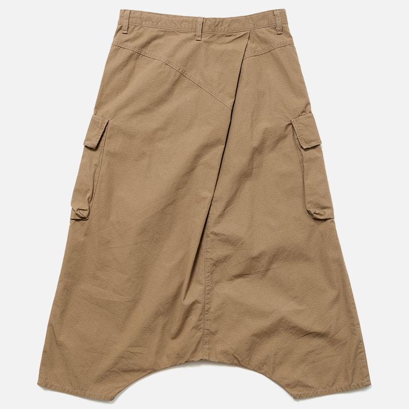 [RaPPELER]   Poplin Ripstop Tuck PT_beige