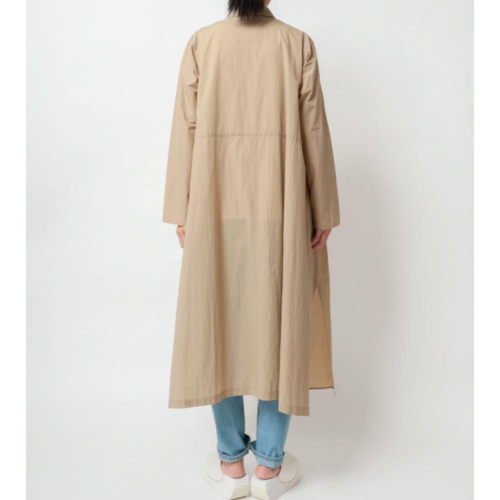 [RaPPELER]  Taffeta pocketable robe coat_beige