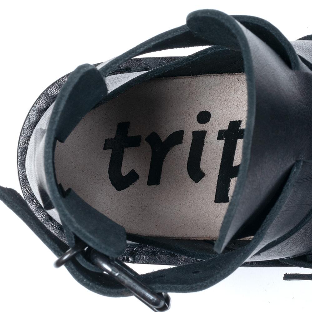[trippen] Rebel tr_vol f ( black-waw )