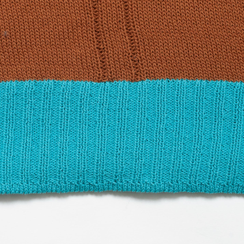 [RaPPELER]  Asymmetric 2 way vest_brown