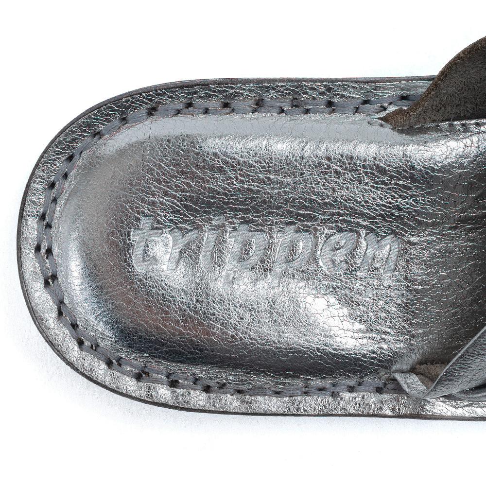 [trippen] Drift f ( silver-sft/nickel-lam )