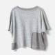 [RaPPELER] 2way washer linen short sleeve pullover_light gray