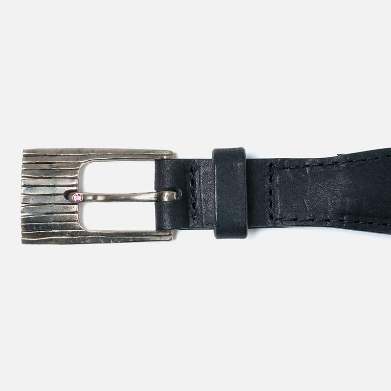 [Harriss] HORSE HAIR BELT w/ STONE_R