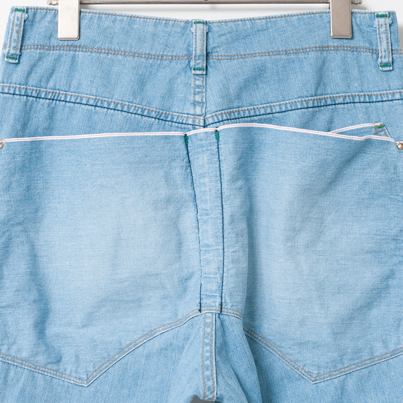 [RaPPELER] classic selvedge denim_light blue