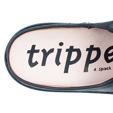 [trippen] Half-Yen f ( black-vst )