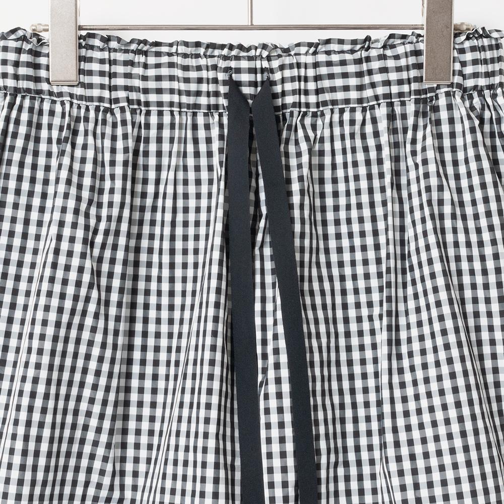 [Harriss] CHECKERED CULOTTES PANTS