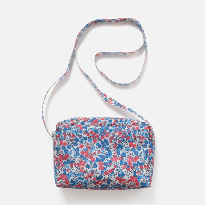 [Harriss SELECT] LUISA CEVESE FLOWER SMALL ZIP BAG  WITH STRAP