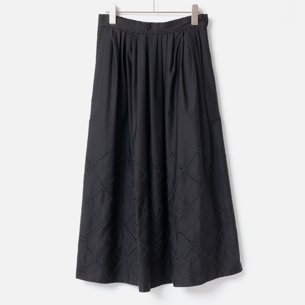 [Harriss] EMBROIDERED SKIRT