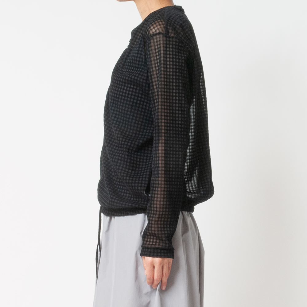 [Harriss] SOFT TULLE FLOCKY PULLOVER