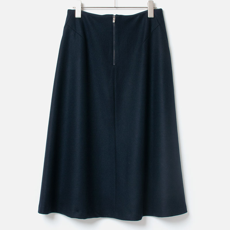 [HARRISS GRACE] A LINE FLARED SKIRT