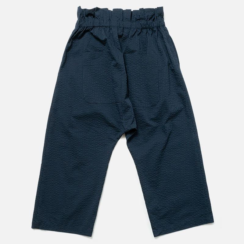 [RaPPELER] Seersucker dry touched Pants_navy