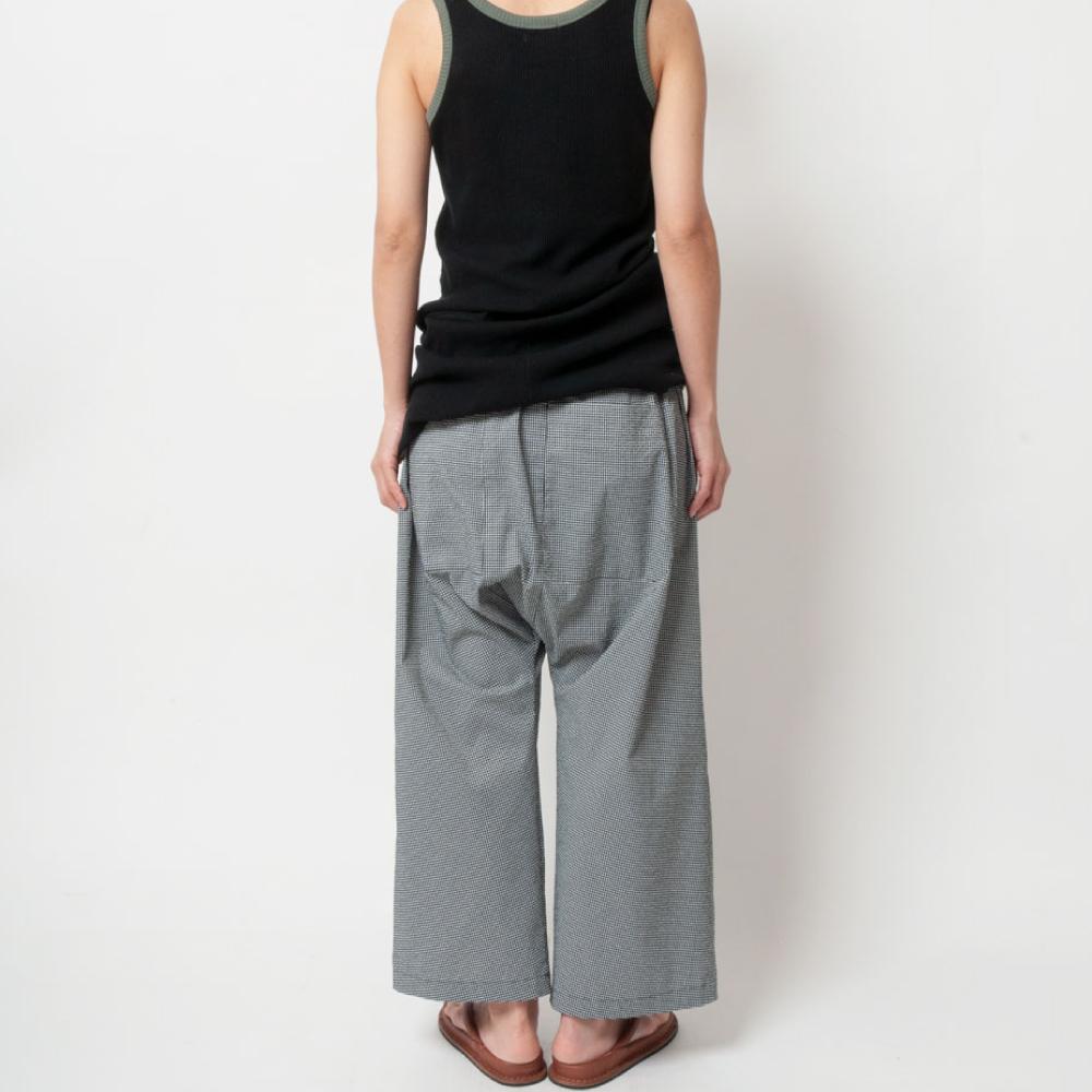 [RaPPELER] Seersucker dry touched Pants_black