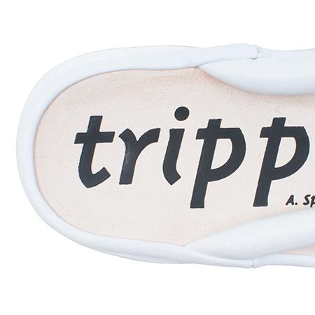 [trippen] Zori f ( white-sft )