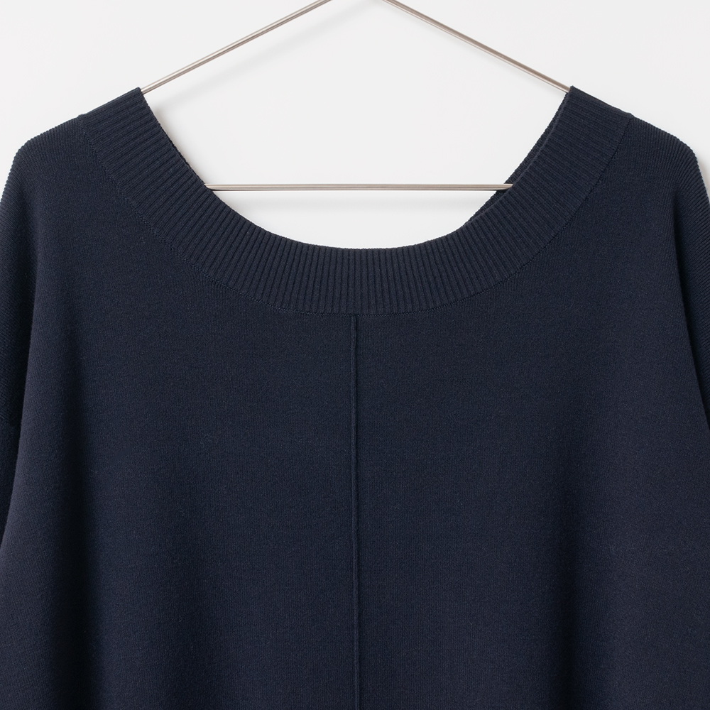 [Harriss] KNIT TUNIC PULLOVER