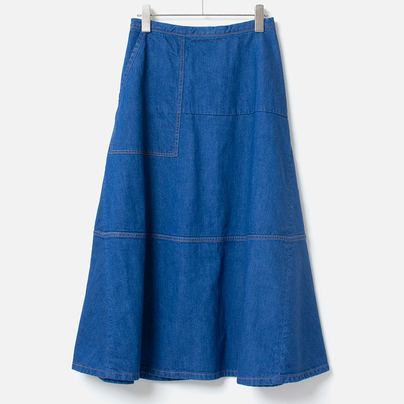 [HARRISS GRACE] PAINTER SKIRT