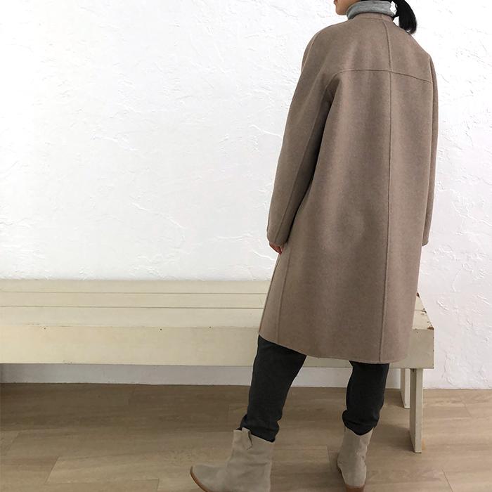[HARRISS GRACE] CASHMERE LONG COAT(61)