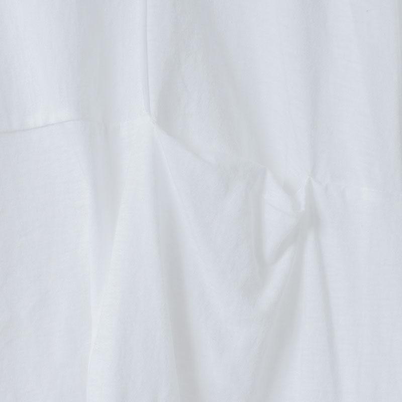 [RaPPELER]  60/Supima Tenjiku Cutoff Short SLV Pullover_white
