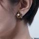 [ziio] BOTTONE EARRING ( PEARL )
