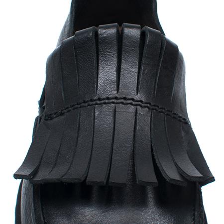 [trippen] Tiger f ( black-waw )