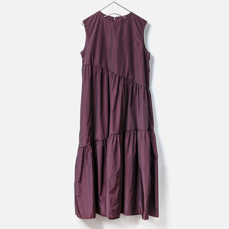 [Harriss] POLYESTER TAFFETA ONE-PIECE