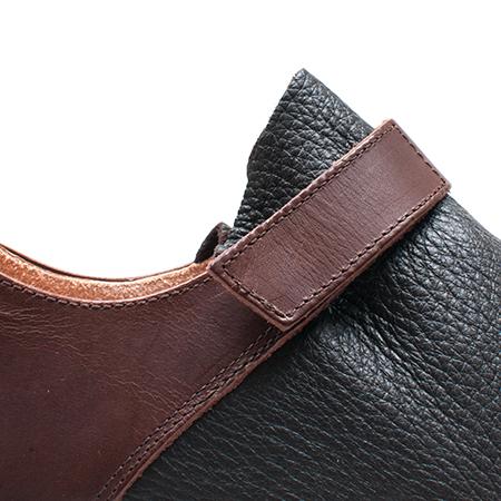 [trippen] Beutel f ( brown-der/brown-wax )