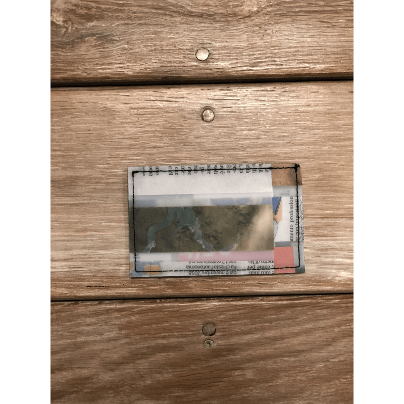 [Harriss SELECT] LUISA CEVESE CARD CASE_NEWSPAPER