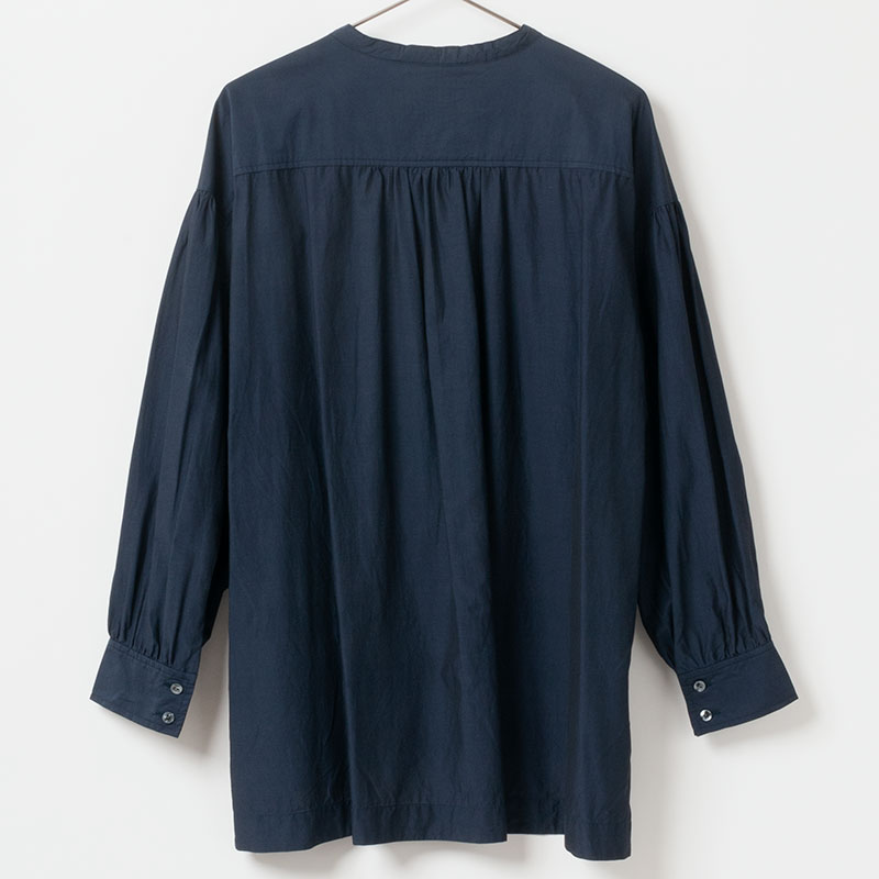 [Harriss ] GATHERS TUNIC BLOUSE