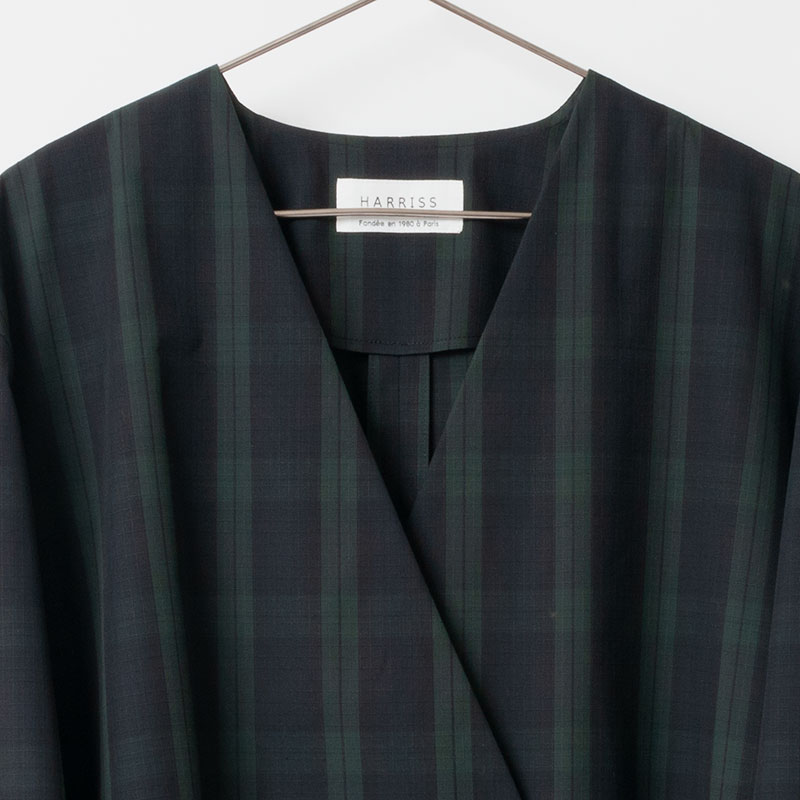 [Harriss ] A-LINE COAT