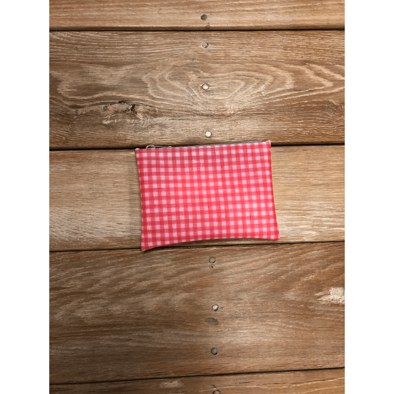 [Harriss SELECT] LUISA CEVESE RECTANGLE POUCH_RED GINGHAM