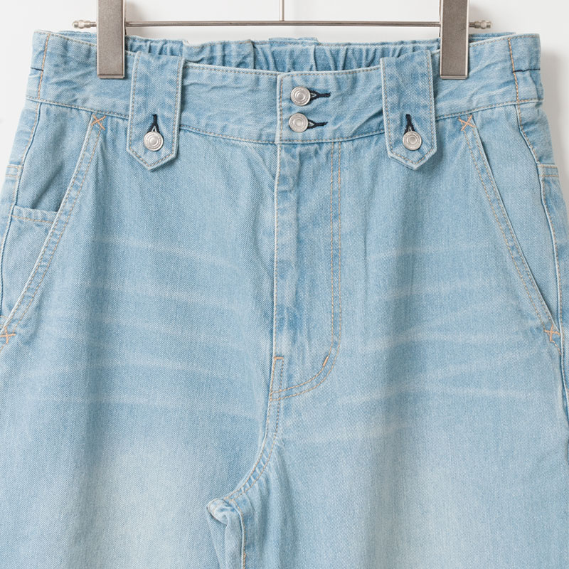 [le ciel de HARRISS] BUTTON-DOWN LOOP PANTS_BLUE