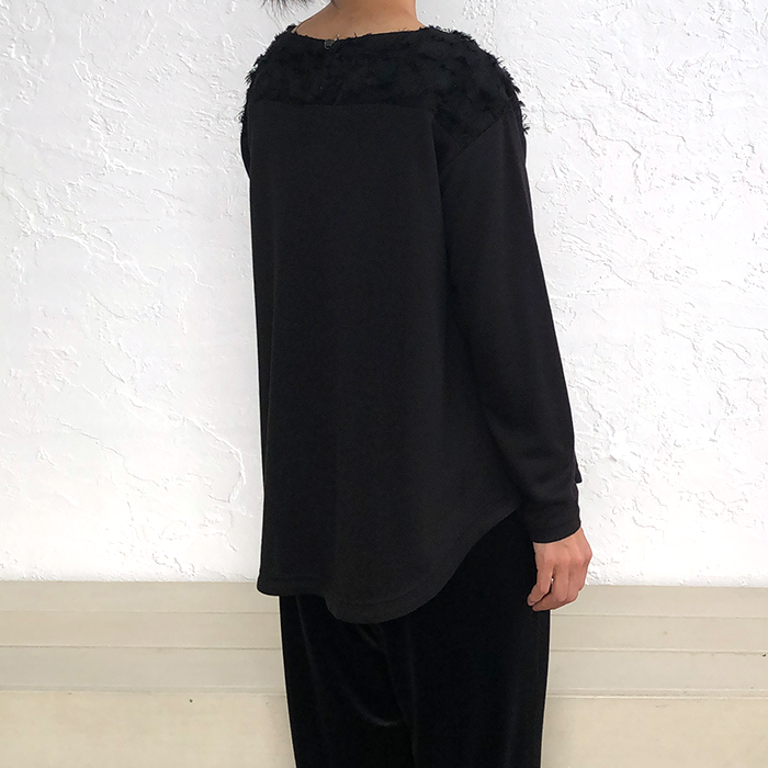 [Harriss]DROPPED SHOULDER SLEEVE CUT-AND-SEW