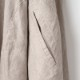 [RaPPELER]  French linen canvas one piece_ecru