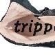 [trippen] Pleats f ( black-sat )