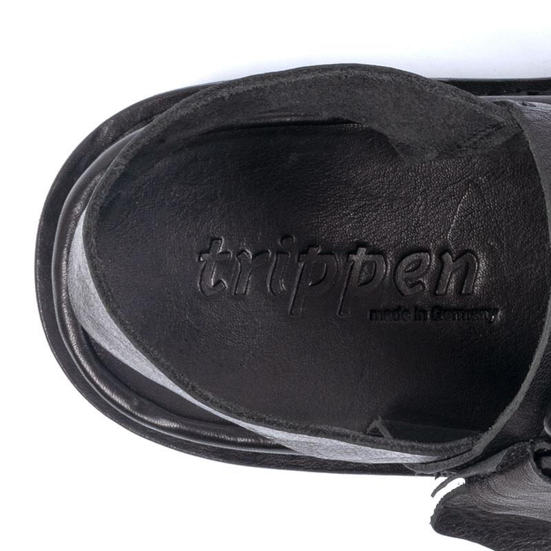 [trippen] Back m ( black-waw )